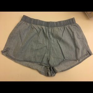 Forever 21 chambray shorts - size small